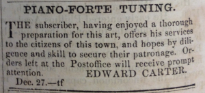 edward carter advert