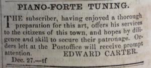 edward carter advert