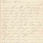 August 24, 1864 Letter - Page 1