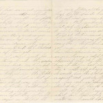 August 24, 1864 Letter - Page 2 & 3
