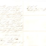 Letter dated August 3, 1864: Back