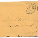 Letter dated August 7, 1864: Envelope