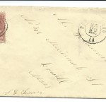 Letter dated May 21, 1863: Envelope